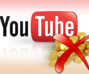 Youtube отключает монетизацию